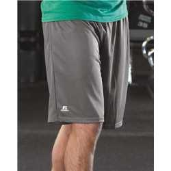 "Russell Athletic 651AFM 9"" Dri-Power Tricot Mesh Shorts with Pockets"