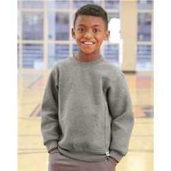 Russell Athletic 998HBB Youth Dri Power Crewneck Sweatshirt