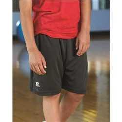 """Russell Athletic TS7X2B Youth Essential 7"""" Shorts with Pockets"""