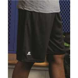"Russell Athletic TS7X2M Dri-Power Essential 10"" Shorts with Pockets"