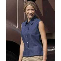 Sierra Pacific 5205 Women's Sleeveless Denim