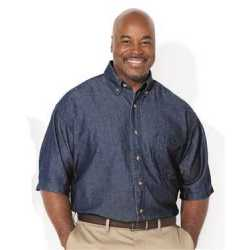 Sierra Pacific 6211 Short Sleeve Denim Tall Sizes