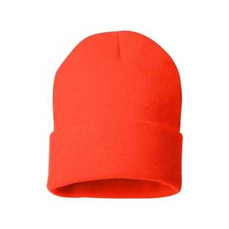 "Sportsman SP12 12"" Solid Knit Beanie"