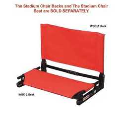 The Stadium Chair WSC2 SEAT Folding Stadium Seat Wide Chair Seat