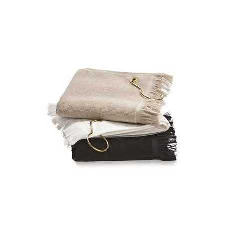 Towels Plus T60GH Fingertip Towel with Corner Grommet and Hook