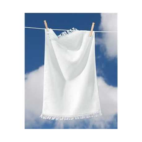 Towels Plus T640 Fringed Hand Towel