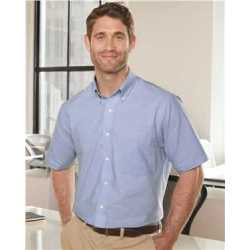 Van Heusen 13V0042 Short Sleeve Oxford Shirt