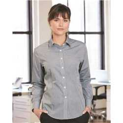 Van Heusen 13V0226 Women's Gingham Check Shirt