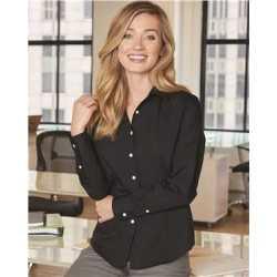 Van Heusen 13V0429 Women's Extreme Color Long Sleeve Shirt