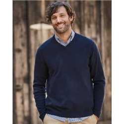 Weatherproof 151377 Vintage Cotton Cashmere V-Neck Sweater
