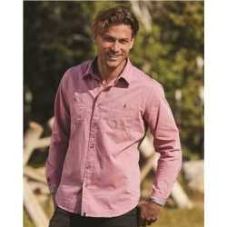 Weatherproof 154885 Vintage Chambray Long Sleeve Shirt