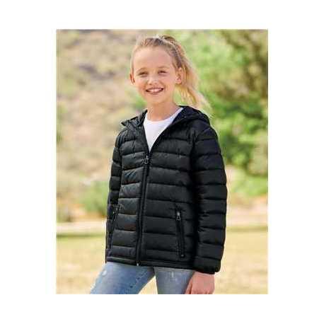 Weatherproof 15600Y Youth 32 Degrees Packable Hooded Down Jacket