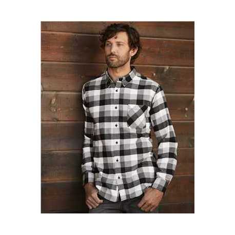 Weatherproof 164761 Vintage Brushed Flannel Long Sleeve Shirt