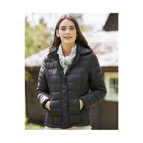 Weatherproof 17602W Women's 32 Degrees Hooded Packable Down Jacket