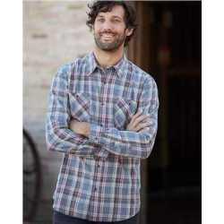 Weatherproof 178573 Vintage Burnout Flannel Shirt