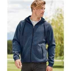 Weatherproof 18700W Heat Last Fleece Tech Full-Zip Hooded Sweatshirt