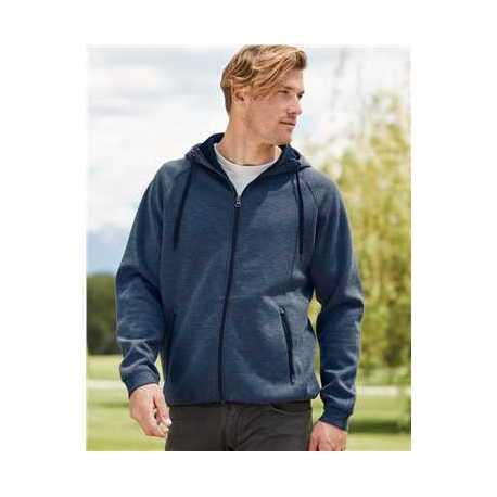 Weatherproof 18700W Heat Last Fleece Tech Full-Zip Hooded Sweatshirt