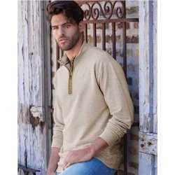Weatherproof 198775 Vintage Marled Quarter-Zip Sweatshirt