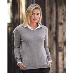 Weatherproof W151363 Women's Vintage Cotton Cashmere V-Neck Sweater