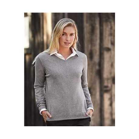 Weatherproof W151363 Women's Vintage Cotton Cashmere V-Neck Sweater