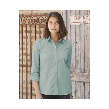 Weatherproof W198331 Women's Vintage Stretch Brushed Oxford Shirt