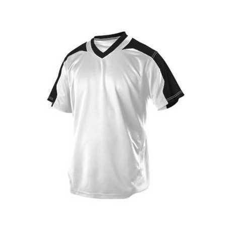 Alleson Athletic 521VNY Youth V-Neck Baseball Jersey