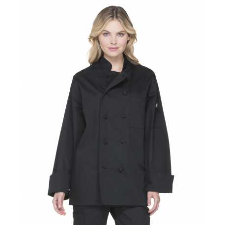 Dickies DC43 Unisex Classic Knot Button Chef Coat