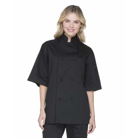 Dickies DC48 Unisex Classic Knot Button Short Sleeve Chef Coat