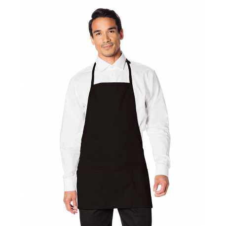 Dickies DC51 3-Pocket Bib Apron with Adjustable Neck