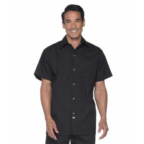 Dickies DC60 Unisex Poplin Short Sleeve Cook Shirt