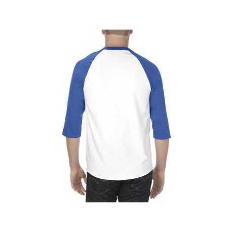 ALSTYLE 1334 Classic Raglan Three-Quarter Sleeve T-Shirt