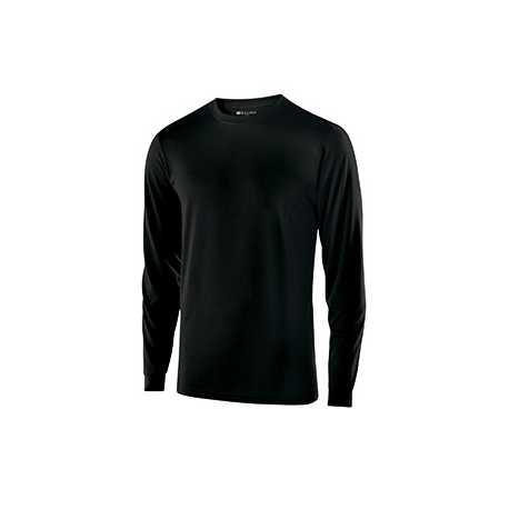 Holloway 222525 Adult Polyester Long Sleeve Gauge Shirt