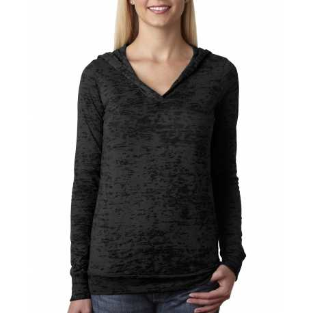 Next Level 6521 Ladies' Burnout Hoody