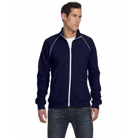 Bella + Canvas 3710 Men's Piped Fleece Jacket