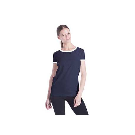 US Blanks US609 Ladies' Classic Ringer T-Shirt