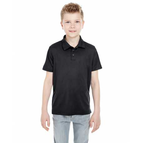 UltraClub 8210Y Youth Cool & Dry Mesh Pique Polo