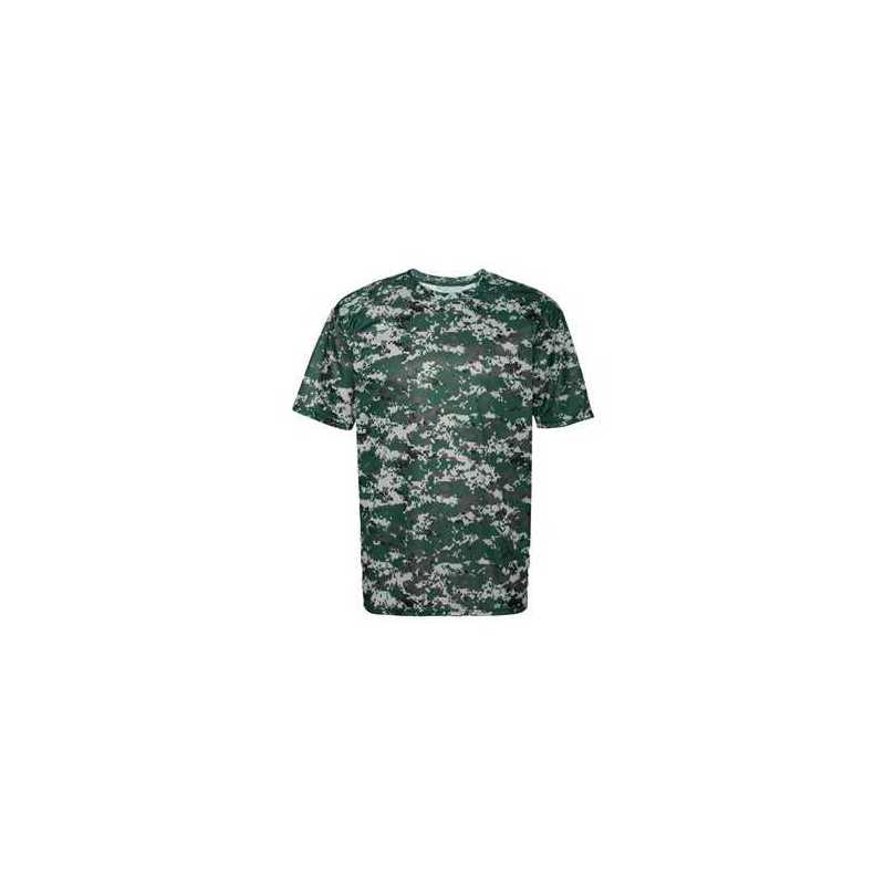 Details about  /Badger Digital Camo Short Sleeve T-Shirt 4180
