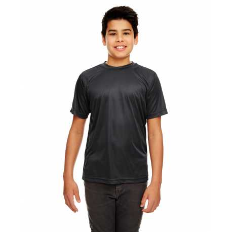 UltraClub 8420Y Youth Cool & Dry Sport Performance Interlock T-Shirt