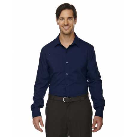 North End Sport Red 88804 Men's Rejuvenate Performance Shirt with Roll-Up Sleeves