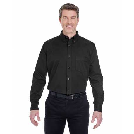 UltraClub 8975 Men's Whisper Twill