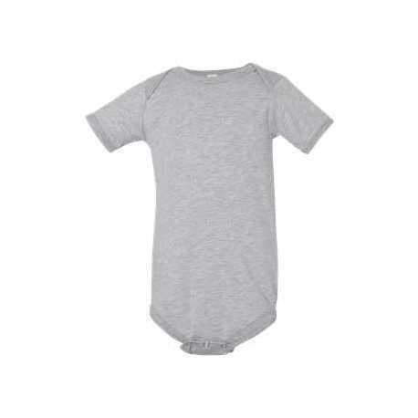 Bella + Canvas 100B Baby Jersey Short Sleeve One Piece
