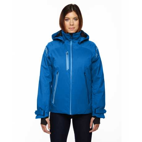 North End Sport Red 78680 Ladies' Ventilate Seam-Sealed Insulated Jacket