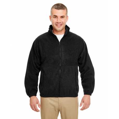 UltraClub 8485 Men's Iceberg Fleece Full-Zip Jacket