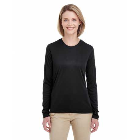 UltraClub 8622W Ladies' Cool & Dry Performance Long-Sleeve T-Shirt