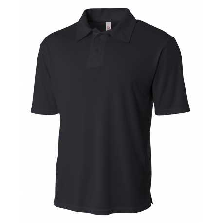 A4 NB3261 Youth Circular-Knit Performance Polo