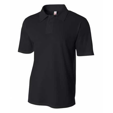 A4 N3262 Men's Textured Polo Shirt