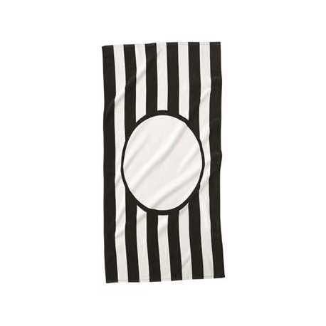 Carmel Towel Company C3060ST Striped Beach Towel