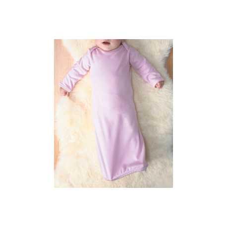 Rabbit Skins 4406 Infant Baby Rib Lap Shoulder Layette