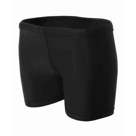 "A4 NW5313 Ladies' 4"" Inseam Compression Shorts"