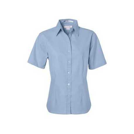 FeatherLite 5231 Women's Short Sleeve Stain Resistant Oxford Shirt